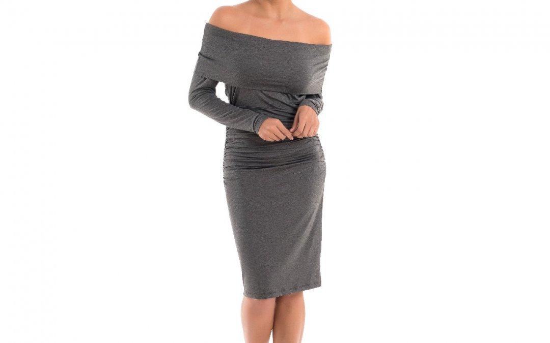 Vestido Gestante Midi Karen – Mescla