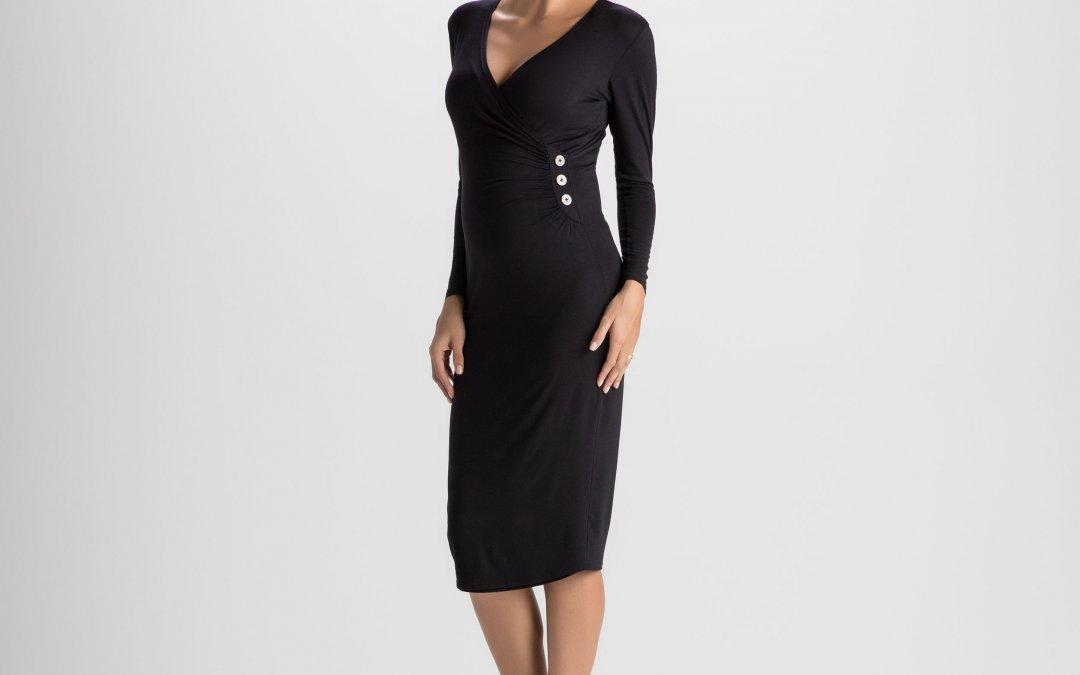 Vestido Amamentação Donatela – Preto